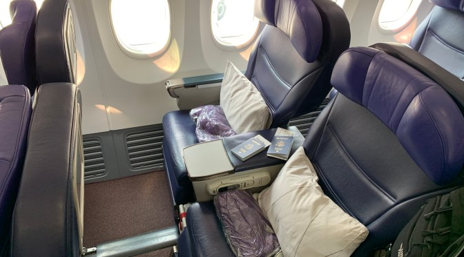 Review: Malaysia Airlines 737-800 Business Class Bangkok to Kuala Lumpur