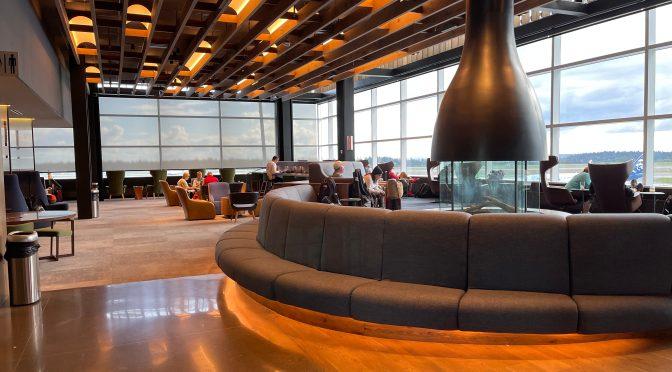 Review: Alaska Lounge Concourse N Seattle SEA