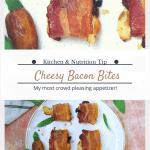 Gluten Free Bacon Cheese Bites