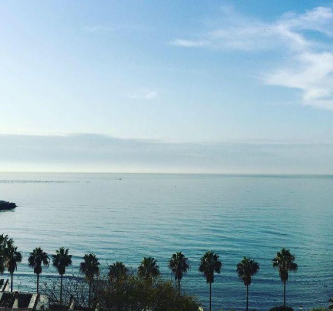 Fyttirassen Middelhavet er fint om morgenen!!!