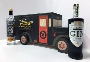 Restless Spirits Distilling Company Tabletop Displays Design By Whiskey Design