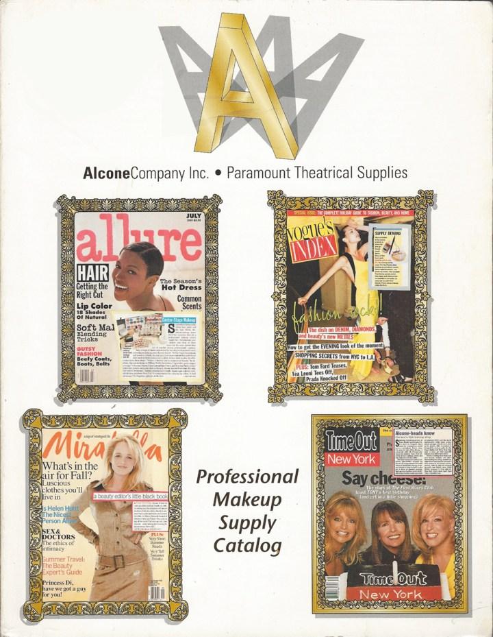 Alcone Company vintage catalog 90s