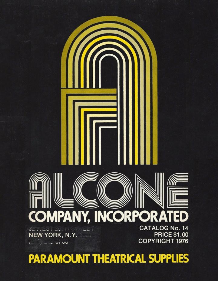 Alcone Company vintage makeup catalog 1976
