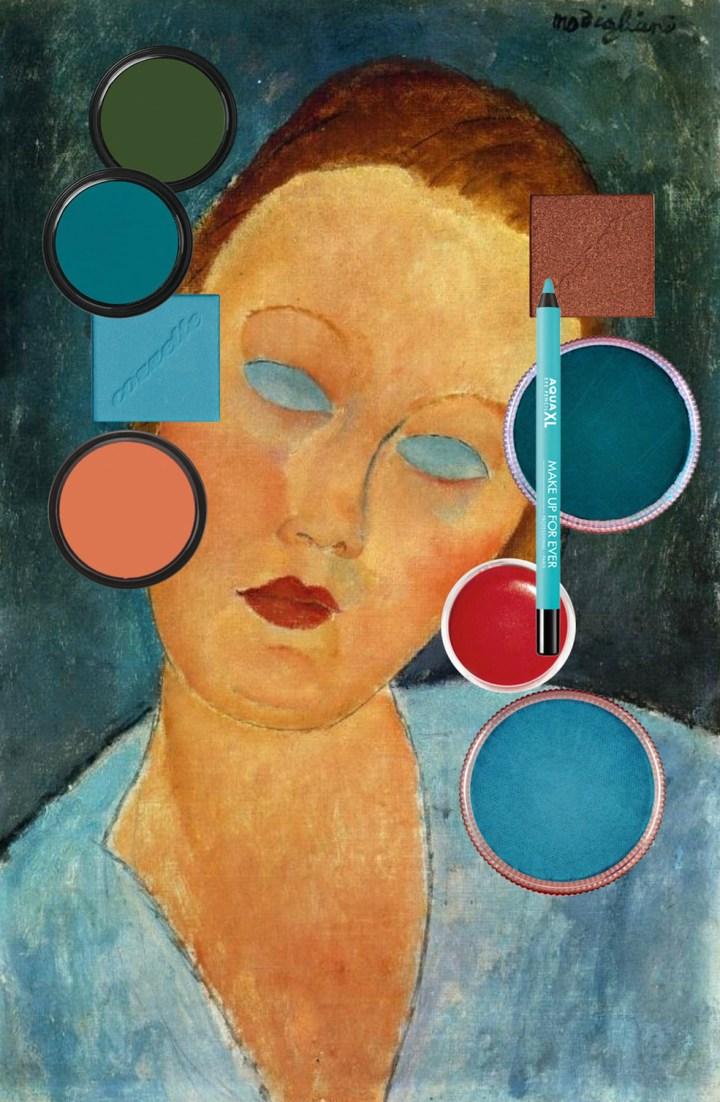 Modigliani and makeup
