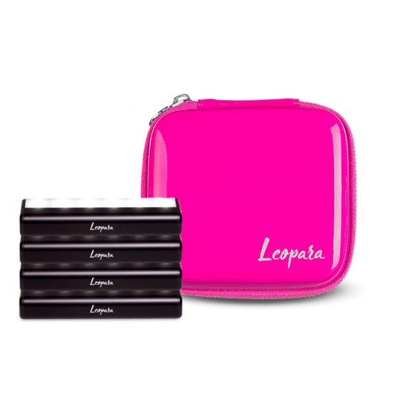 Leopara travel makeup light