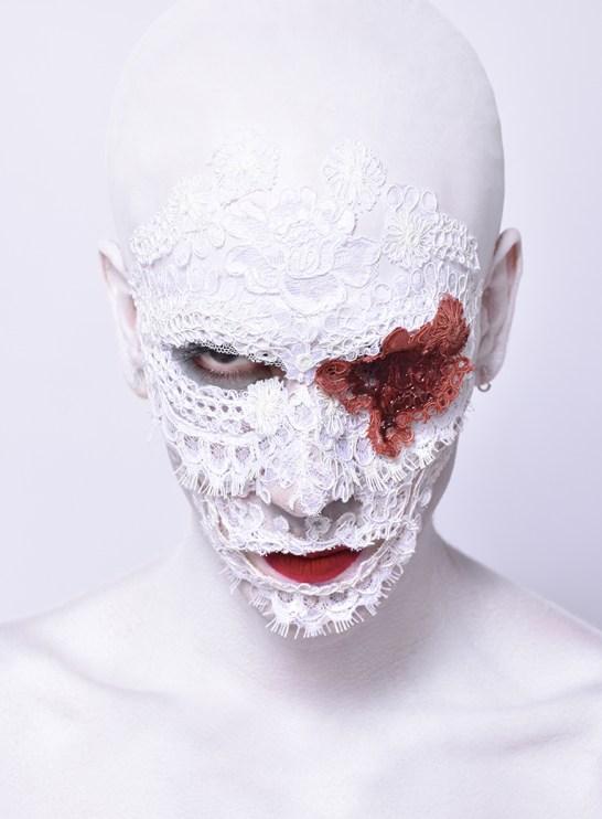 Spirit of the Dead Halloween makeup look