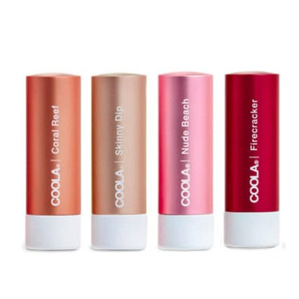 COOLA Mineral Liplux Organic Tinted Lip Balm Sunscreen SPF 30