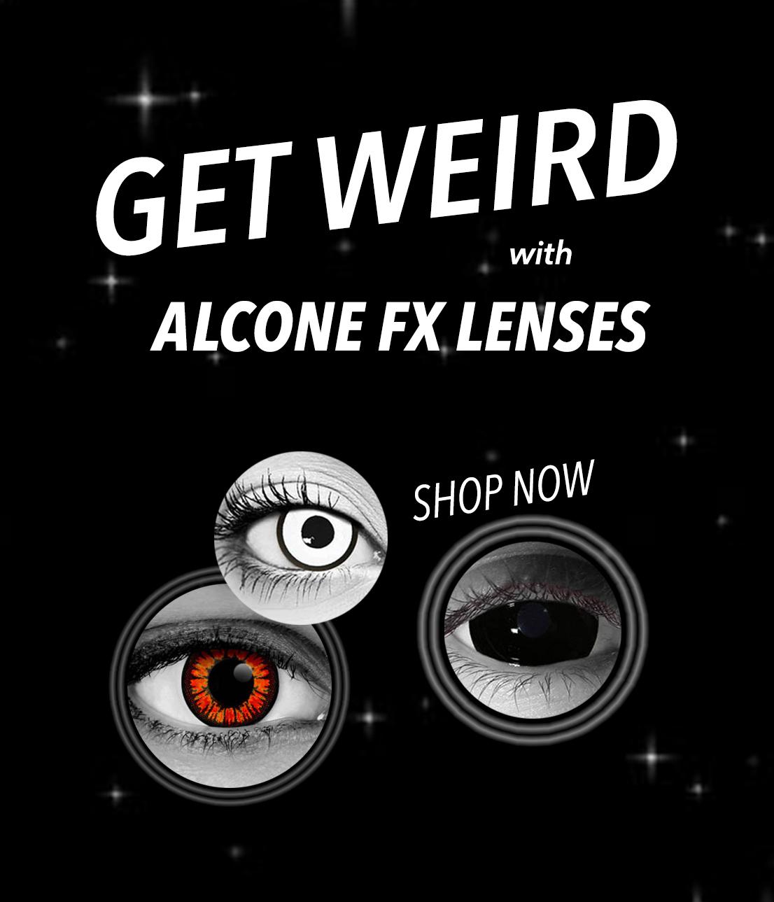 SHOP Alcone FX Contact Lenses