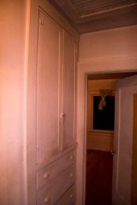 Original built-in in the hallway