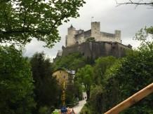 Hohensalzburg Castle seen from the Mönchsberg
