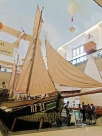 3 floors worth of naval exhibit
