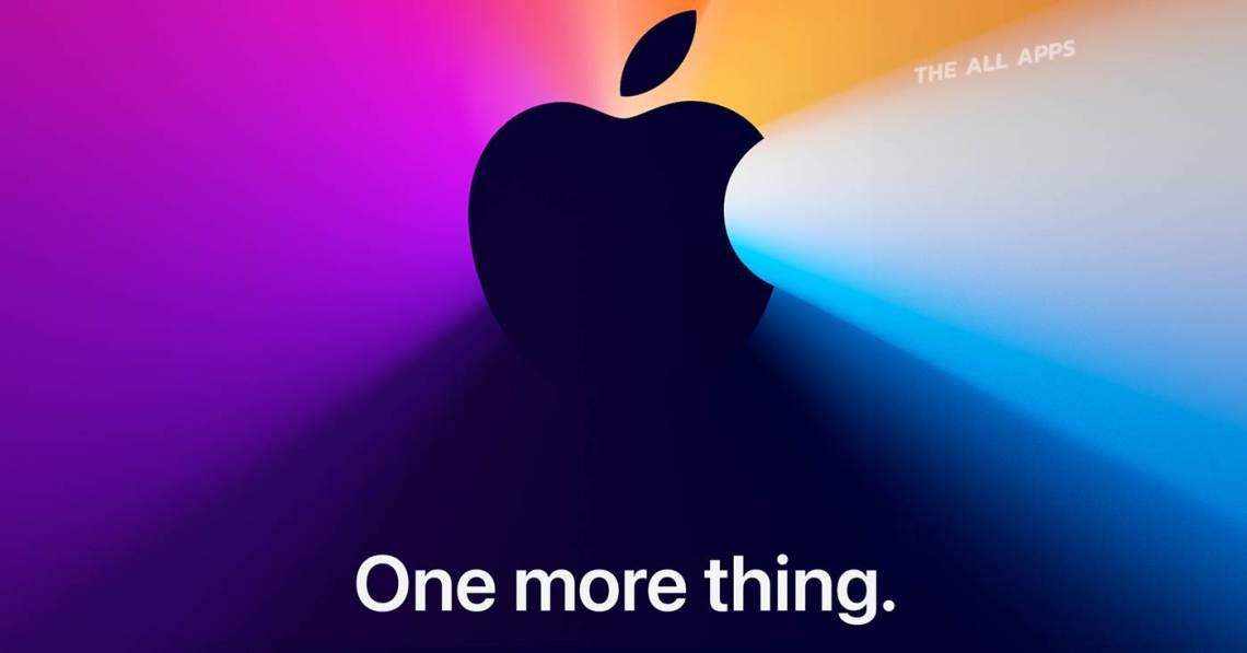One more thing ประกาศแล้ว Apple Event เดือนนี้ จัดในวันที่ 10 พ.ย. คาดเปิดตัว MacBook รุ่น Apple Silicon