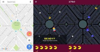 Google Maps Ms.Pac-Man