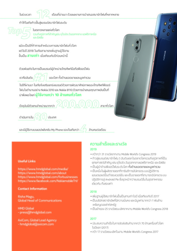 Nokia Top 5 Android Smartphone