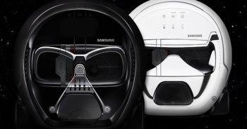 หุ่นยนต์ดูดฝุ่น POWERbot VR7000 ลายพิเศษ Star Wars Darth Vader และ Stormtrooper