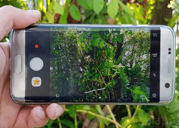 Samsung Galaxy Nougat Swicth between front back cameras