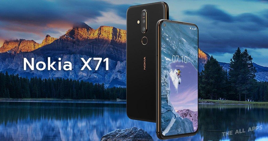Nokia X71 หน้าจอ Punch display กล้องหลัง 3 เลนส์ เปิดตัวในใต้หวันแล้ว