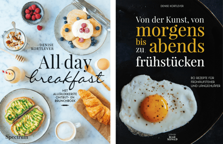 cover cookbook all day breakfast Duitsland Germany