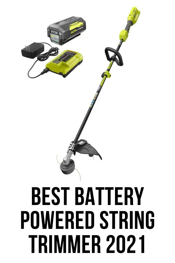 best battery powered string trimmer