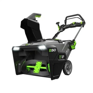 ego 21 inch 56v battery powered snow blower