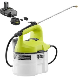 ryobi 18v battery powered chemical sprayer