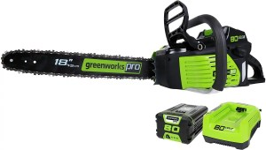greenworks 18inch battery powered