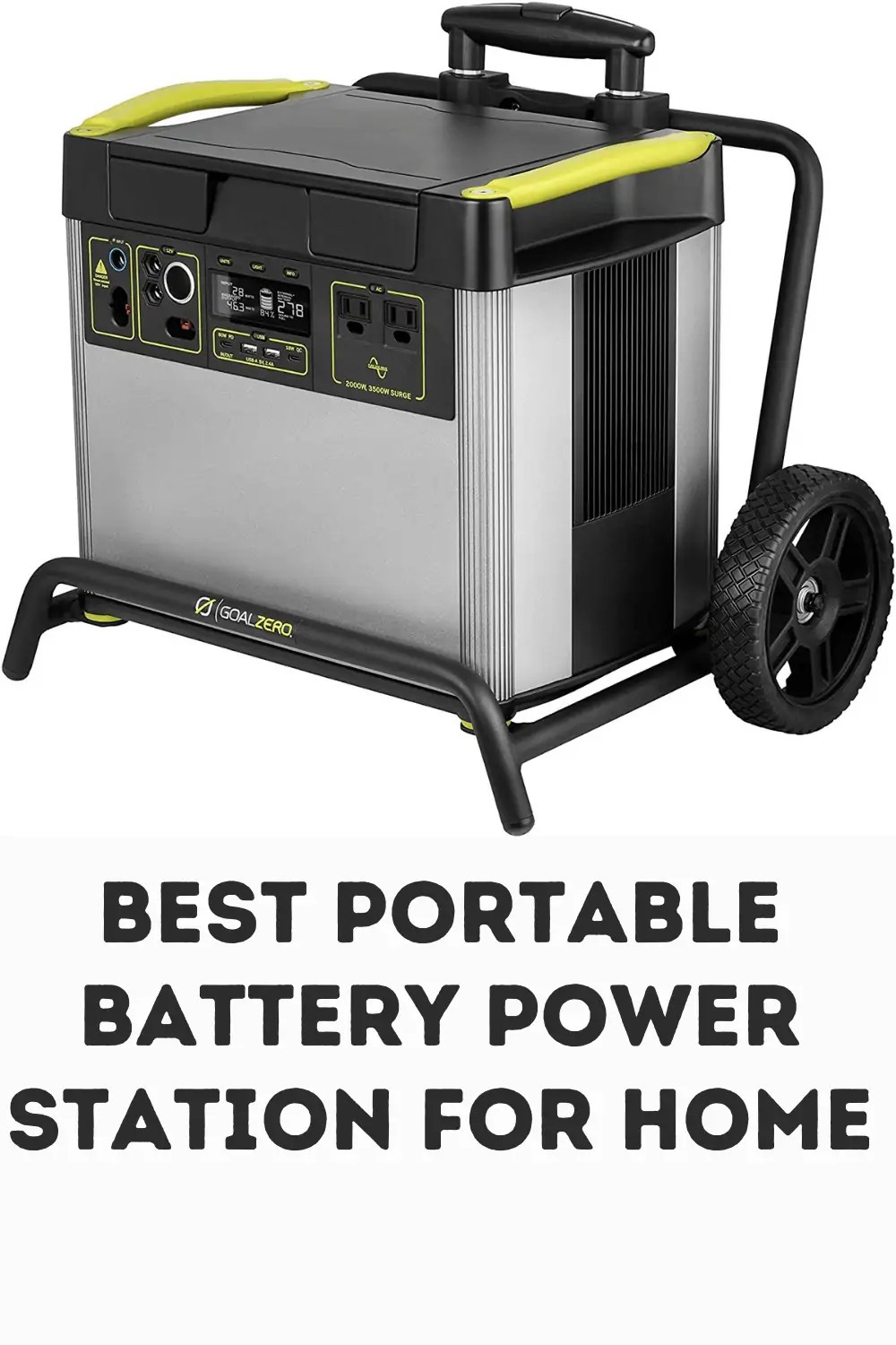 best portable battery power station for home use