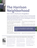 Harrison Neighborhood: How a Community Becomes Marginalized