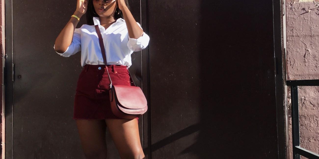 3 Ways to style a white button down shirt   The Alma Chronicle