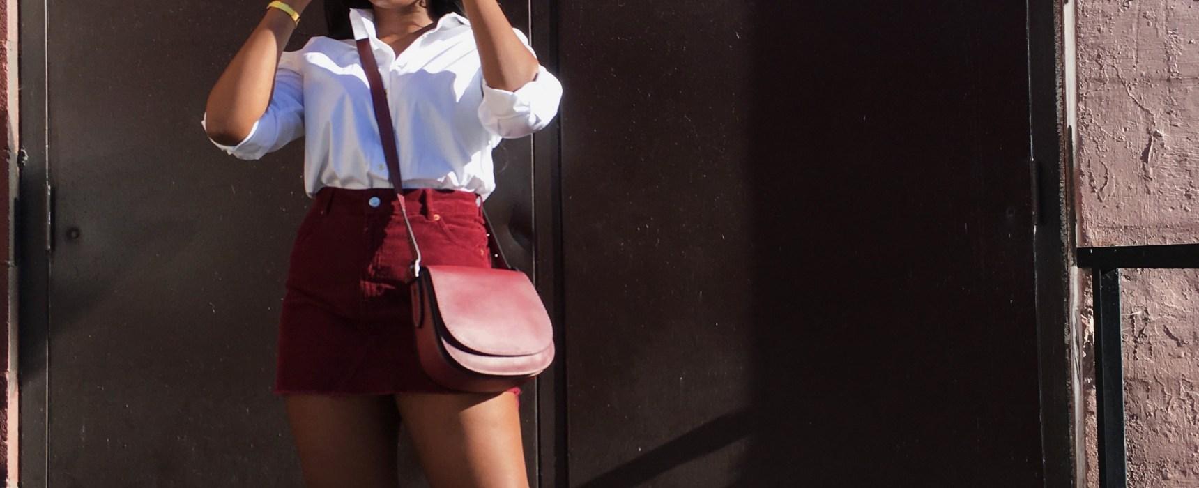 3 Ways to style a white button down shirt | The Alma Chronicle