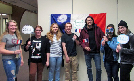 French club celebrates FrenchGiving