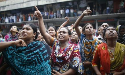 Bangladeshi workers go on strike