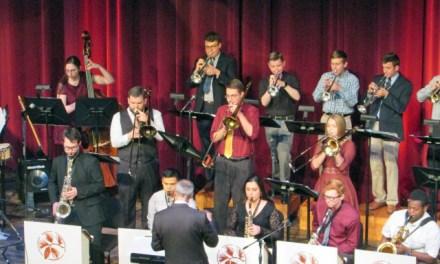 Jazz ensemble rocks Heritage Center