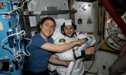 First all-female spacewalk takes place