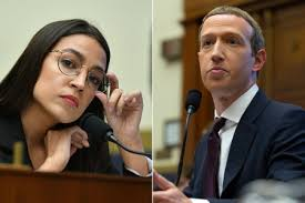 Zuckerberg vs AOC