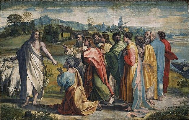 Christ gives Peter the keys
