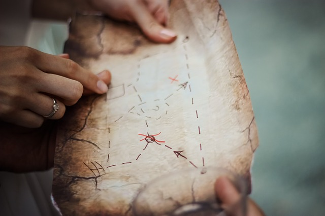 Finding new offertory donors is like following a map to buried treasure. Your effort makes a difference.