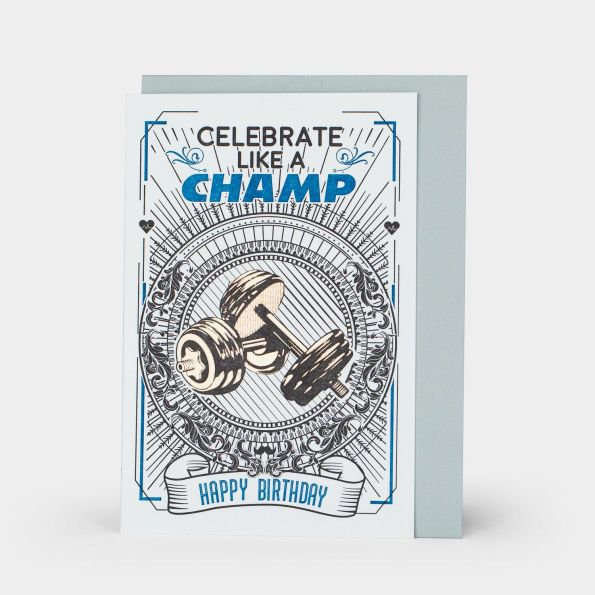 Happy Birthday: Celebrate Like A Champ