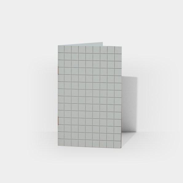 B+AP Plain Notebook (Ash Grey)