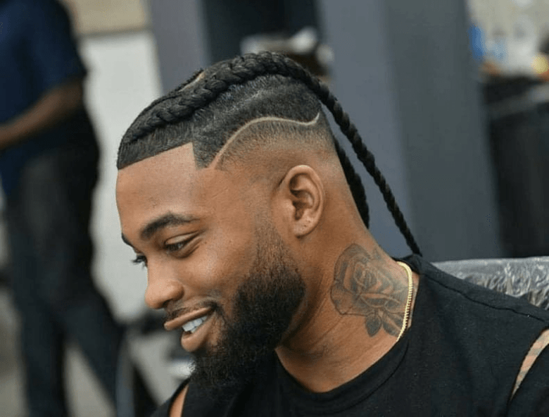 Braids With High Fade