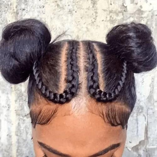 The U-Shape Goddess Braids