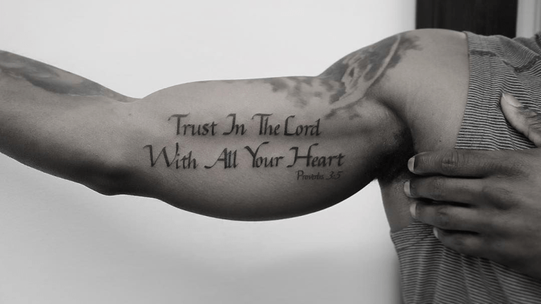 The Quote Tattoo