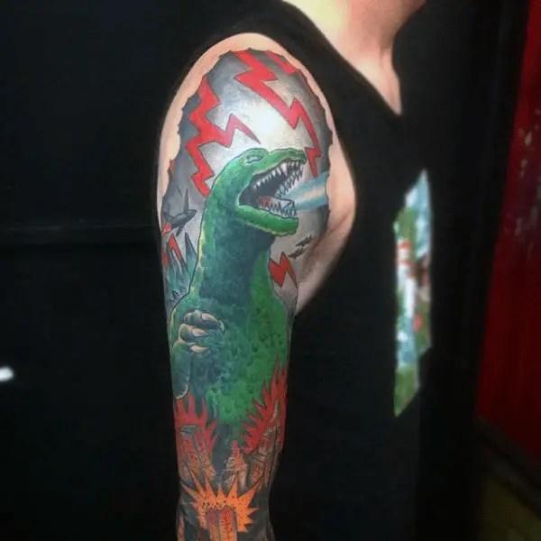 Godzilla Tattoo
