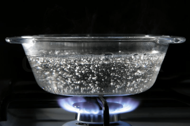 Heat Up Water In Bowl