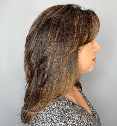 Longer Cut with Feathered Layers