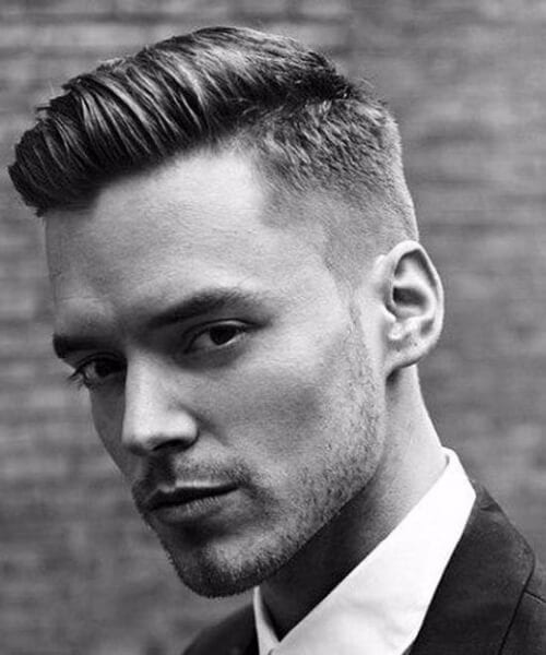 The Gentleman's Low Fade Hairstyle