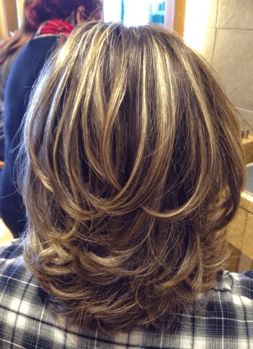 Medium Layered Haircuts with Subtle Highlights