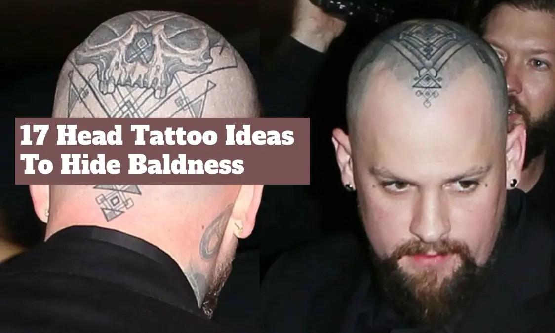 Benji Madden Head Tattoo