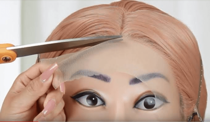 Cutting Lace Front Wig