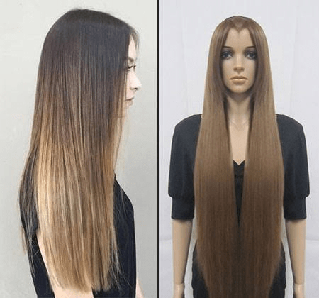 Straighten a Wig Without Heat